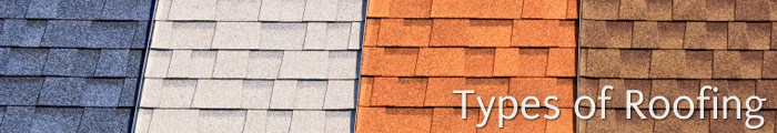 Different Types of Roofing Materials in NY, including Wappingers Falls, Poughkeepsie & Carmel.