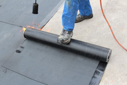 Residential and commercial flat roofs in NY